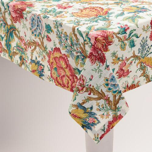 Floral Polina Tablecloth