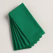 Verdant Green Buffet Napkins, Set of 6