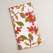 Autumn Leaves Kitchen Towels, Set of 2