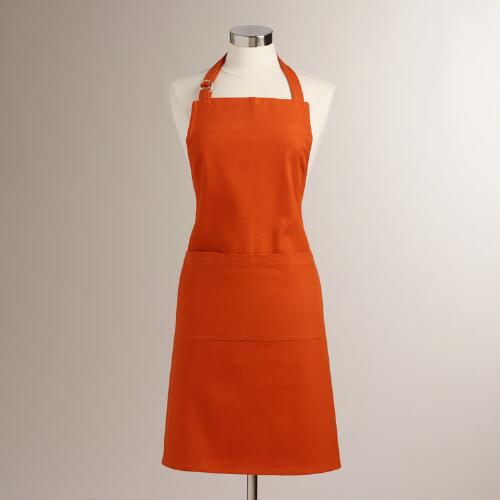 Flame Orange Gourmet Classic Apron