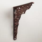 Geometric Iron Shelf Bracket