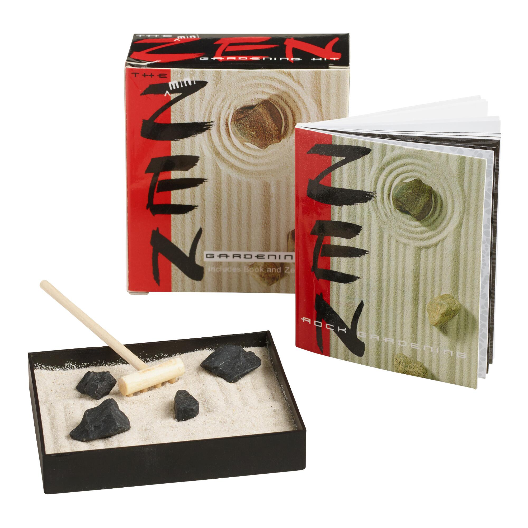 cost plus world market mini zen garden kit by world market shop your way online shopping. Black Bedroom Furniture Sets. Home Design Ideas