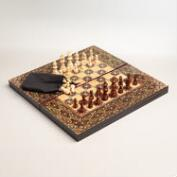Turkish Chess and Backgammon Set
