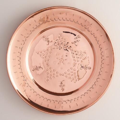 Copper Turkish Tray Decor