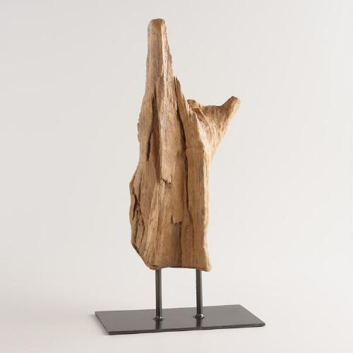 Driftwood on Stand