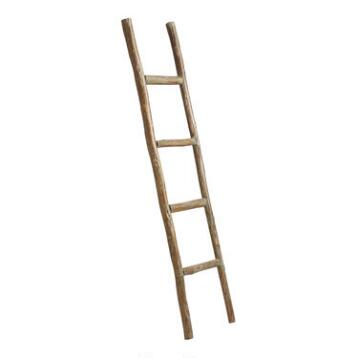 Wood Ladder Decor