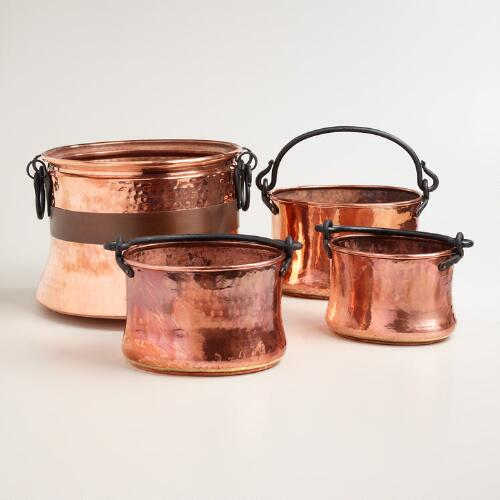Copper Turkish Pot Decor