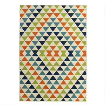 Diamonds Low-Profile Area Rug