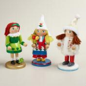 International Girl Nutcrackers, Set of 3