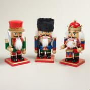 Tradtional Nutcrackers, Set of 3