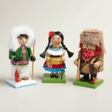 North American Nutcrackers, Set of 3