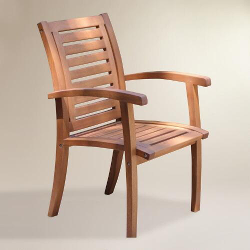 Wood Galena Armchair