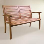 Wood Galena Bench
