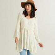 Ivory Embroidered Roxann Tunic