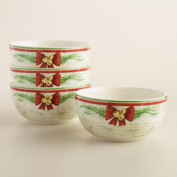 Nutcracker  Bowls, Set of 4