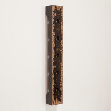 Black Wall  Wine Rack