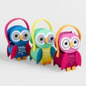 Felt Birthday  Owls Containers, Set of 3