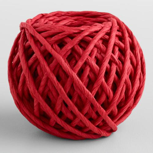 Red Paper Cord Rolls, 2-Pack