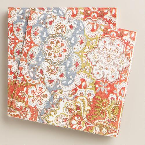 Felicity Thanksgiving Lunch Napkins, 20-Count