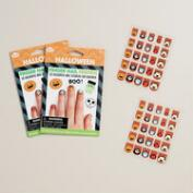 Fingernail Friends Halloween Nail Stickers, Set of 2 Sheets