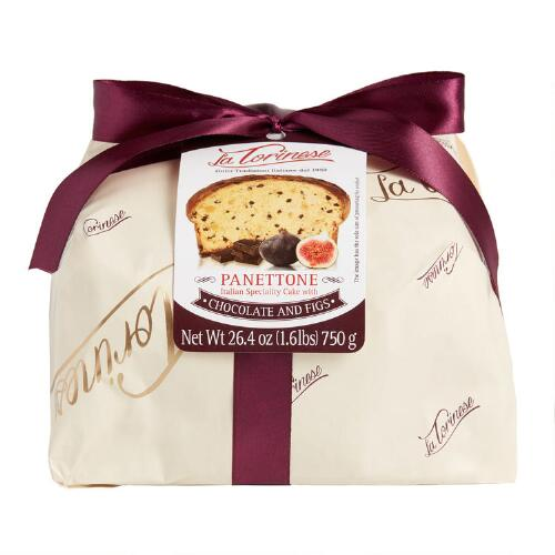 La Torinese Chocolate and Fig Panettone