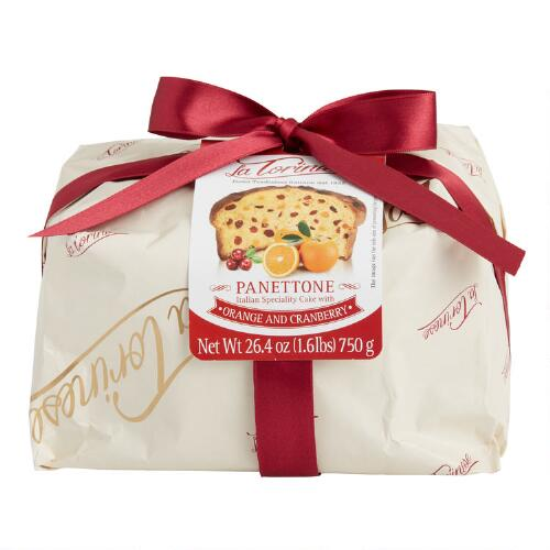 Torinese Orange and Cranberry Panettone