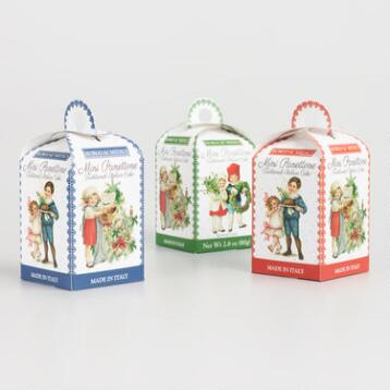 Borgo Mini Panettone Cakes, Set of 3