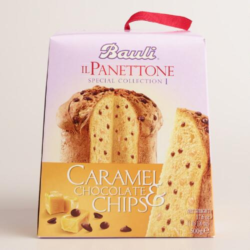 Bauli Caramel and Chocolate Chip Panettone