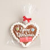 Consup Christmas Heart Gingerbread Cookie
