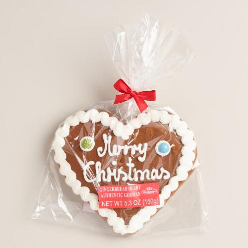 Consup christmas heart gingerbread cookie world market