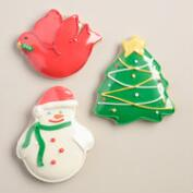 Monaco Holiday Sugar Cookies, Set of 3