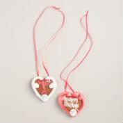 Zuckersucht Christmas Heart Gingerbread Cookie