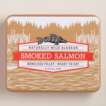 Smoked Salmon Tin