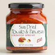 Elki Sundried Tomato and Parmesan Cheese Crostini Spread