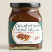 Elki Caramelized Sweet Onion Balsamic Crostini Spread