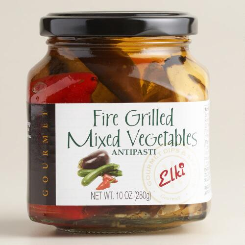 Elki Fire-Grilled Mixed Vegetables Antipasti
