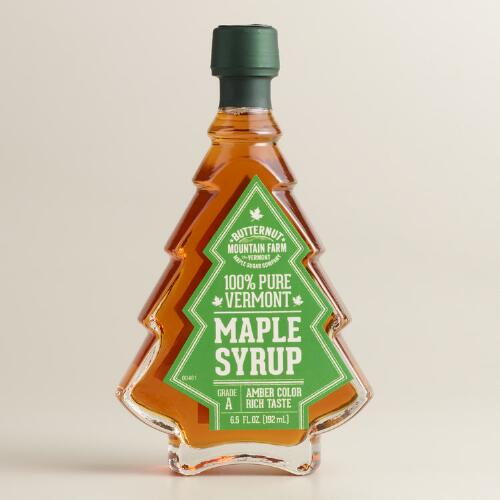 Butternut Christmas Tree Maple Syrup