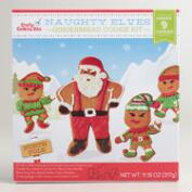 Snowball Fighting Elf Cookie Kit