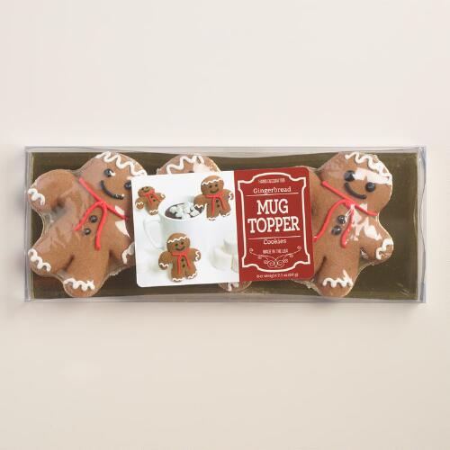 World Market Lately: Gingerbread Man Cocoa Topper, 3-Pack