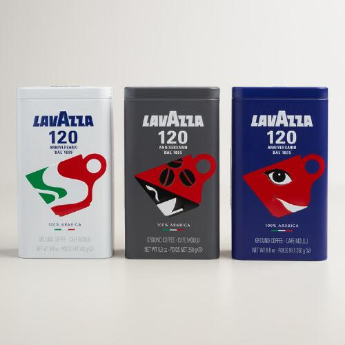 Lavazza 120th Anniversary Coffee Tin