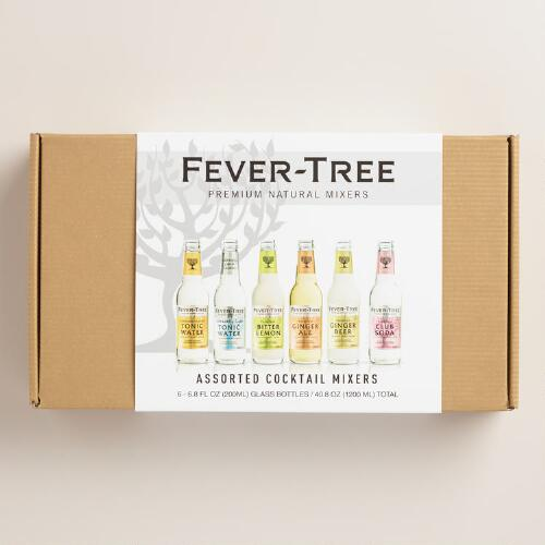 Fever-Tree Assorted Cocktail Mixer Gift Set, 6-Pack