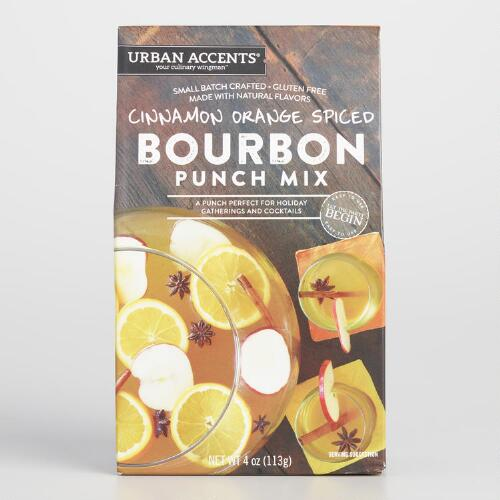 Cinnamon and Orange Spice Bourbon Punch Mix