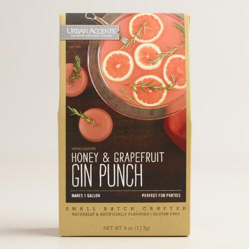 Honey and Grapefruit Gin Punch Mix
