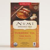 Numi Three Roots Turmeric Tea, 12-Count