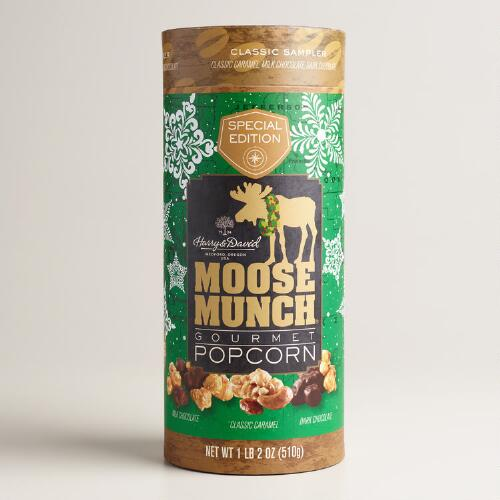 Harry & David Holiday Moose Munch Can