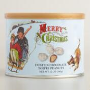 Holiday Dusted Chocolate Toffee Peanuts