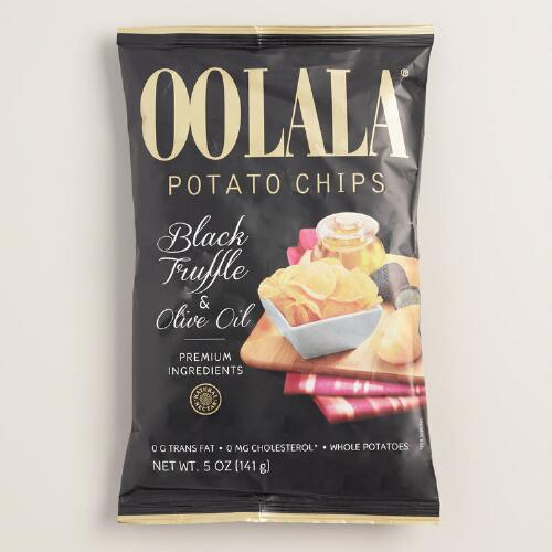 Oolala Black Truffle and Olive Oil Potato Chips