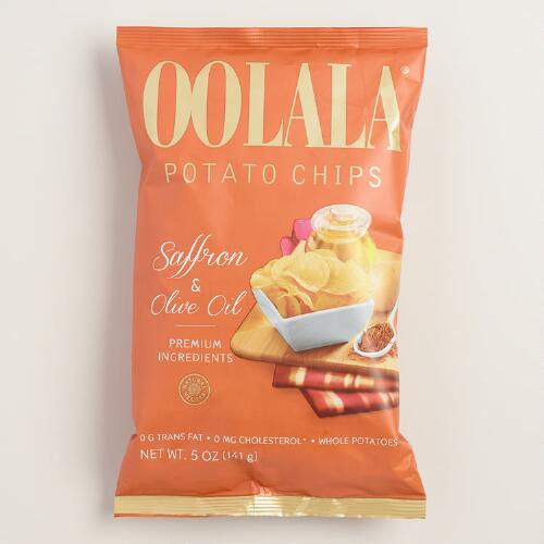 Oolala Saffron Potato Chips