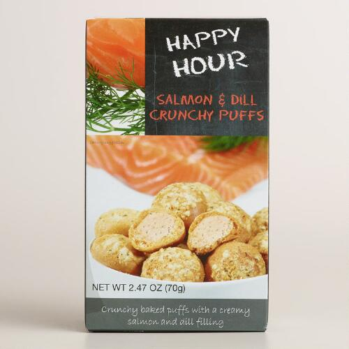 De Kroes Happy Hour Salmon and Dill Puffs