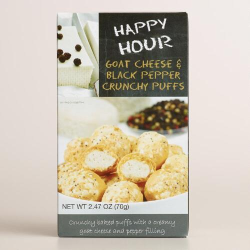 De Kroes Happy Hour Goat Cheese and Pepper Puffs